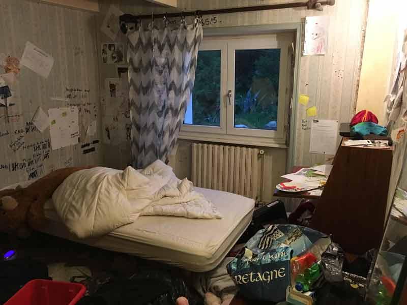 habitaciones antes despues depresion